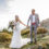 Breathtaking view – Back in our wedding outfits